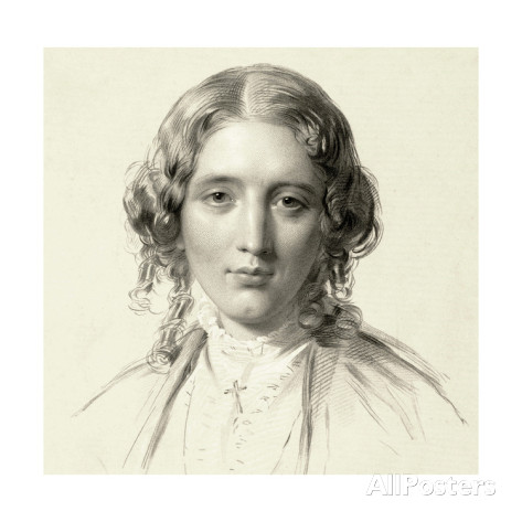 francis-holl-portrait-of-harriet-beecher-stowe-1853